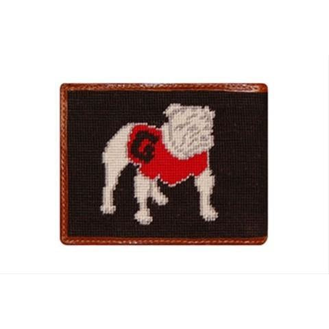 UGA Needlepoint Wallet