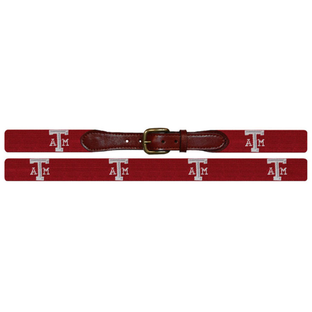 Texas A&M Needlepoint Belt - OnwardReserve