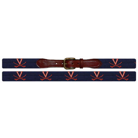 UVA Needlepoint Belt - Onward Reserve