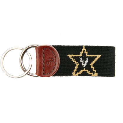 Vanderbilt Needlepoint Key Fob - OnwardReserve