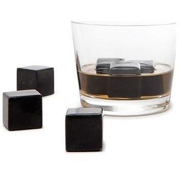 Whisky Stones in Black