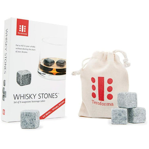 Whisky Stones in Grey