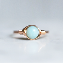 Blue Amazonite Ring