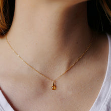 Dainty Citrine Necklace