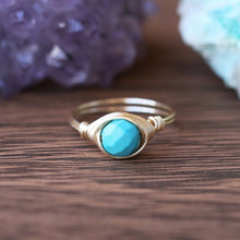 December Birthstone Ring - Turquoise Ring