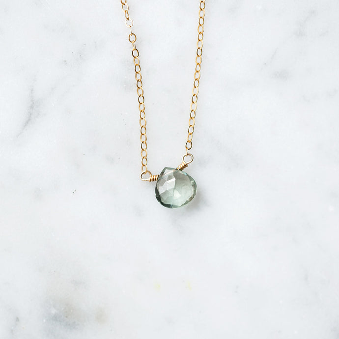 Prasiolite Necklace