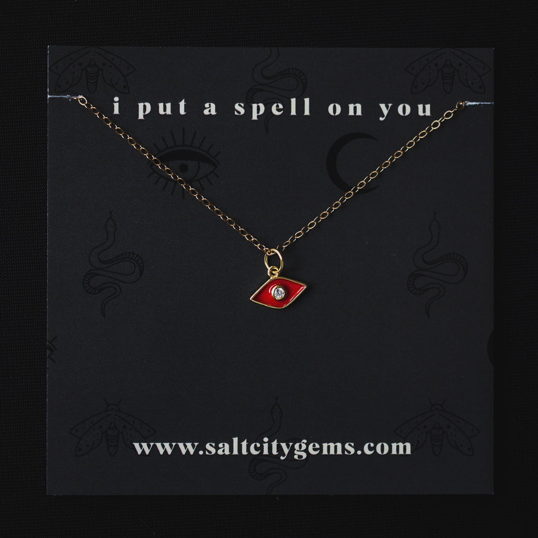 The Hocus Pocus Necklace - Red