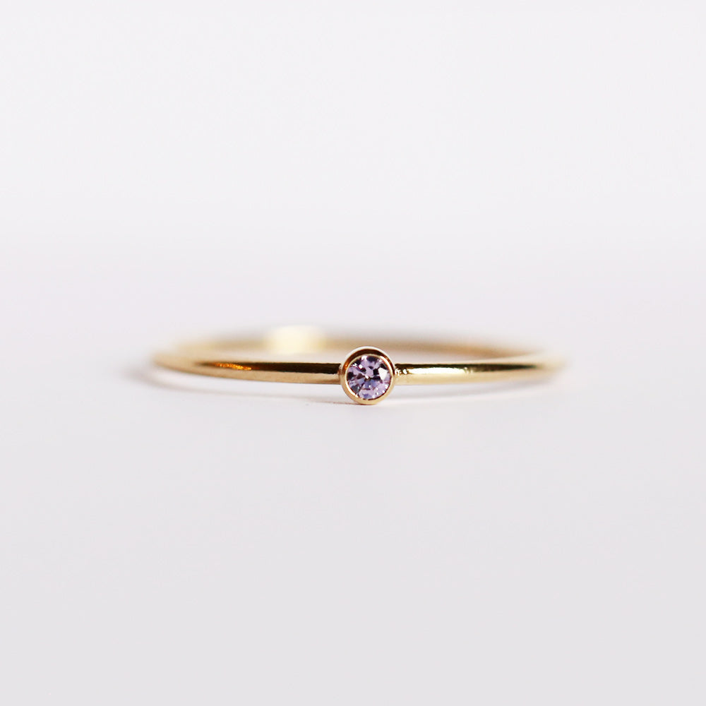 CZ June Birthstone Ring