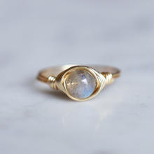 Labradorite Ring - Gold Filled