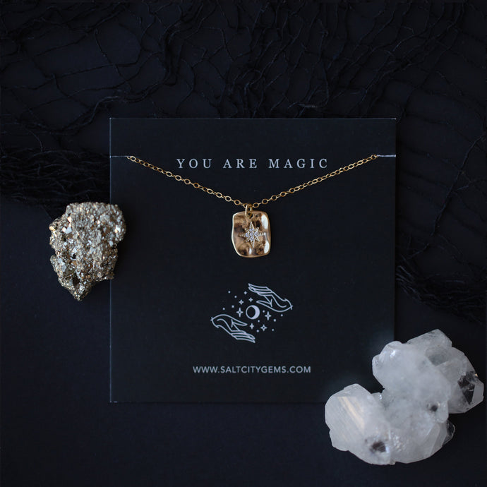 You are Light Necklace