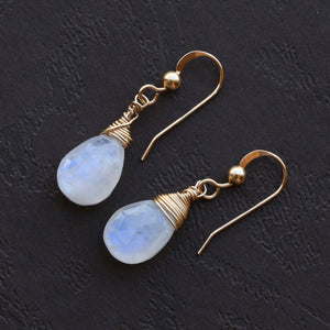 Genuine Moonstone Earrings