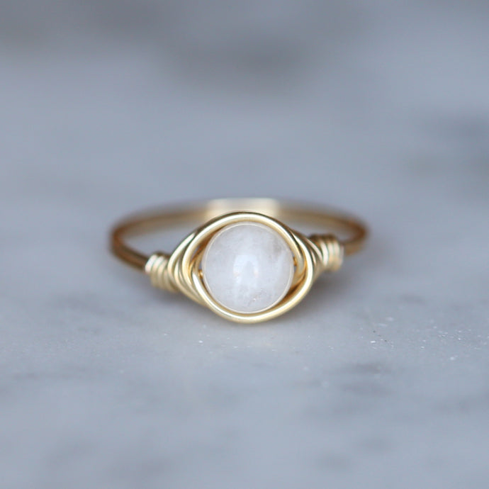 Moonstone Ring - Gold Filled