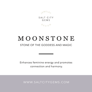 Eos Necklace - Moonstone