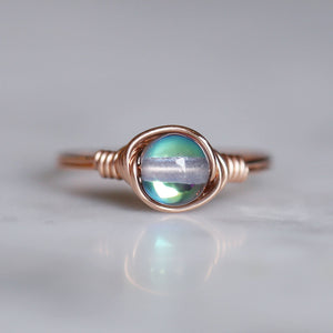 Blue Mystic Aura Ring
