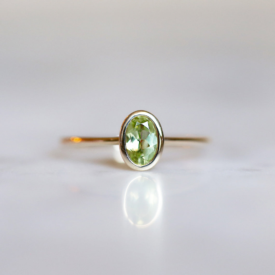 Arwen Ring with Peridot
