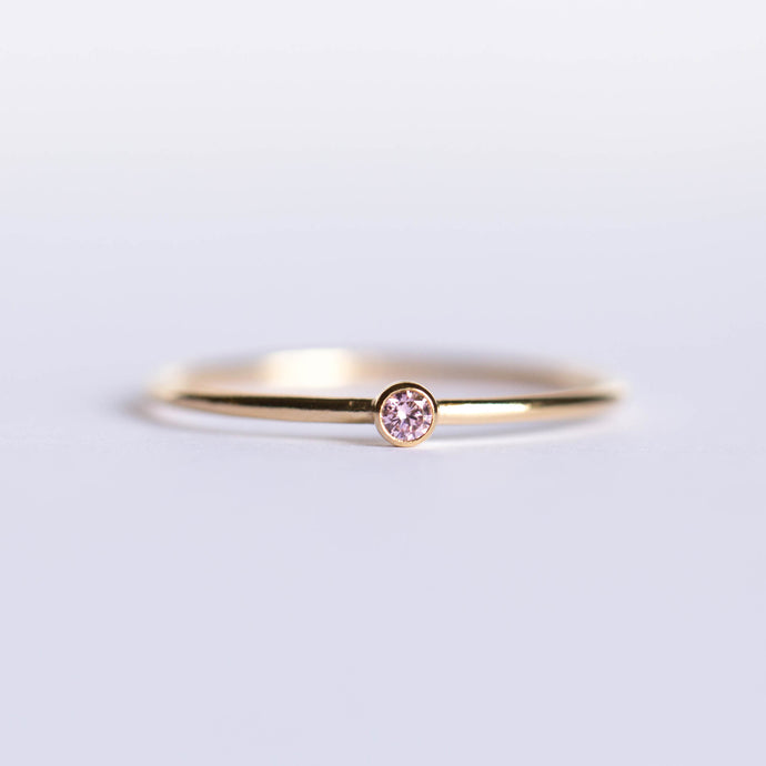 CZ October Birthstone Ring