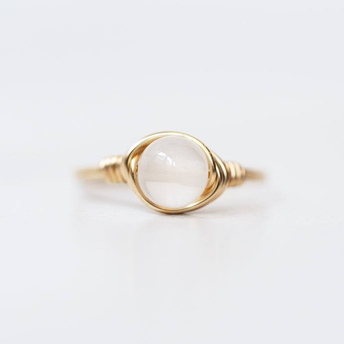 Selenite Ring
