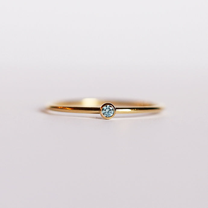 CZ September Birthstone Ring
