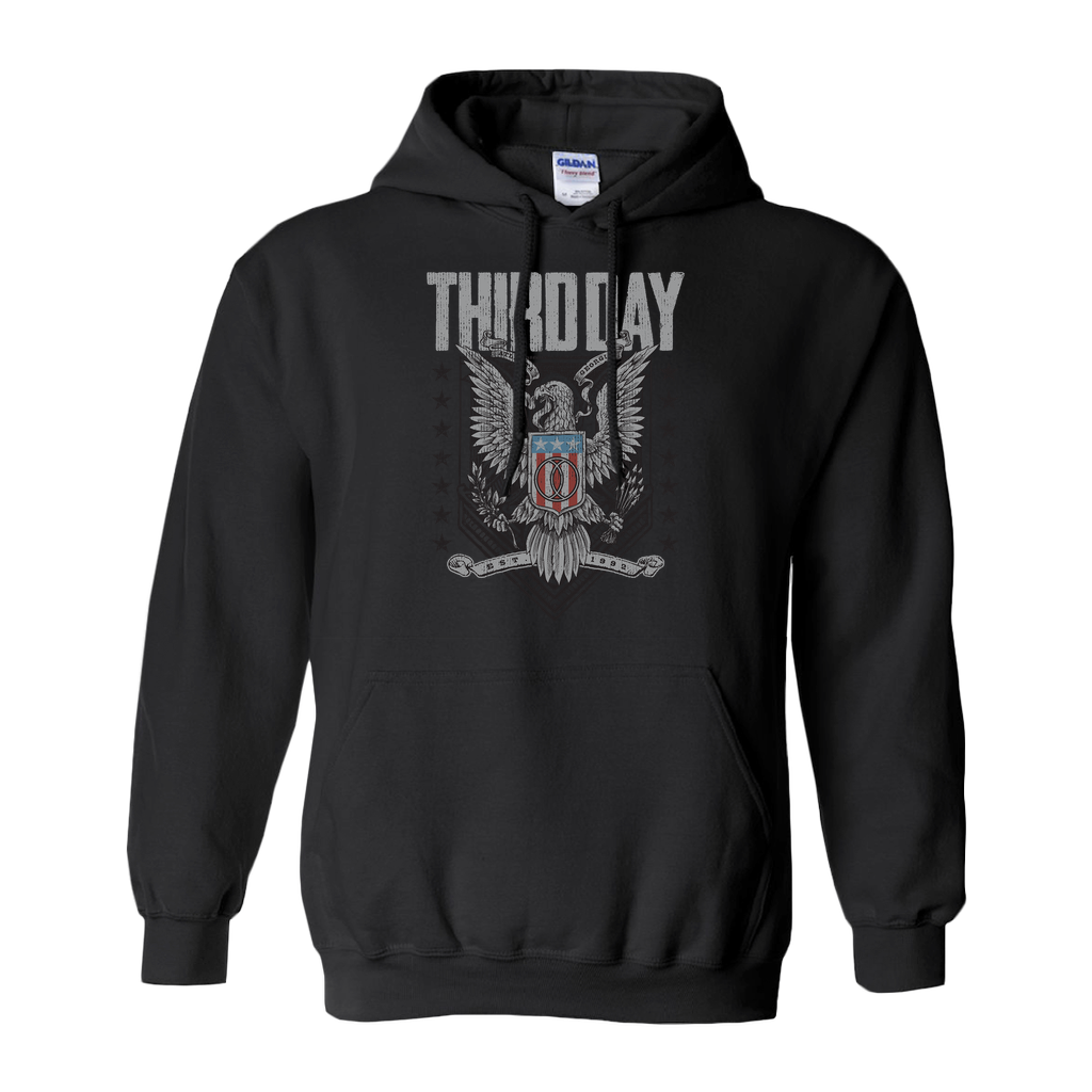 Third Day Eagle Hoodies (No-Zip/Pullover)