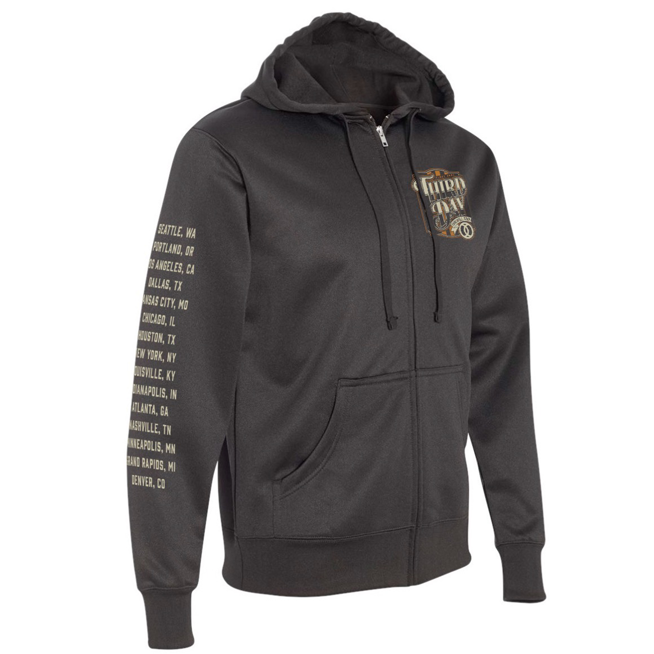 Graphic Farewell Tour Hoodie - Black