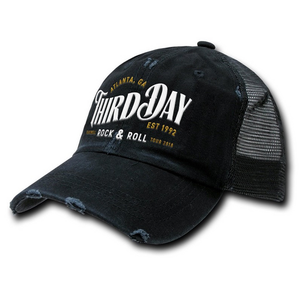 Farewell Rock & Roll Hat - Black