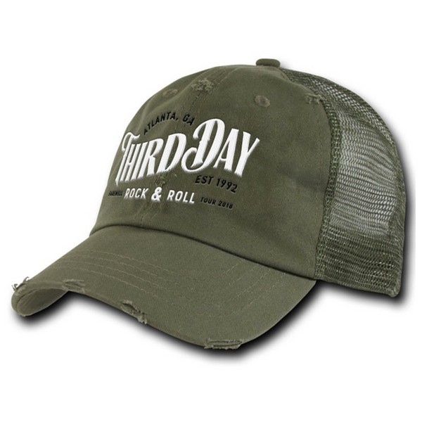 Farewell Rock & Roll Hat - Olive