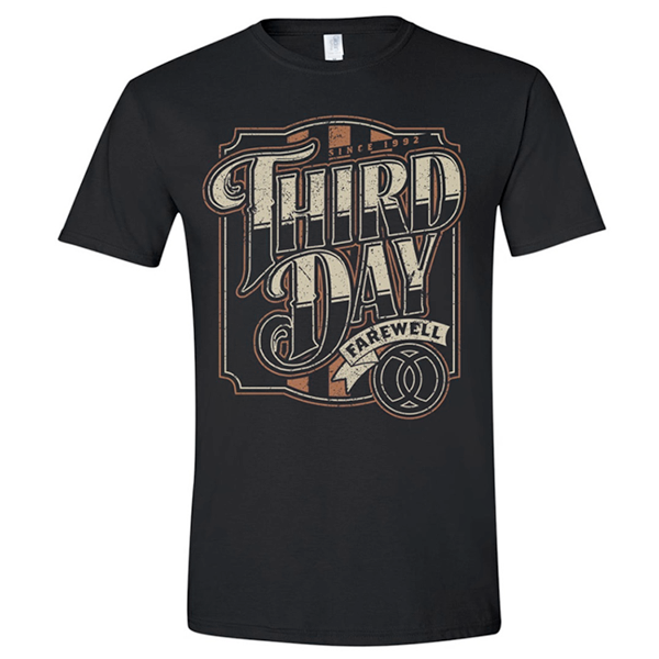 Third Day Farewell Graphic Tee - YOUTH