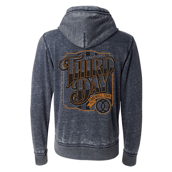 Graphic Farewell Tour Hoodie - Dark Gray