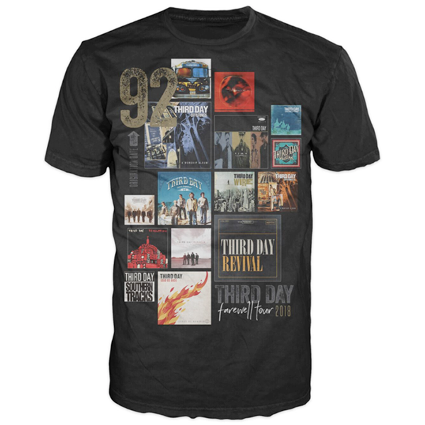 Third Day Farewell Album Cover Tee
