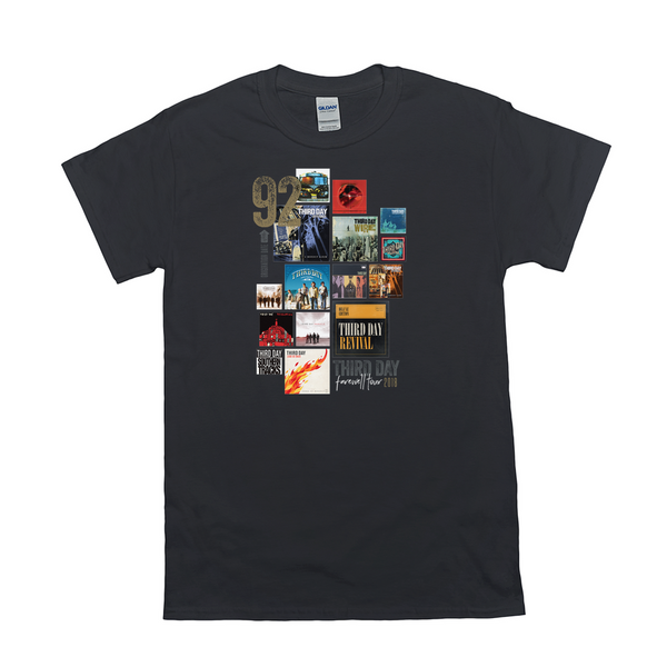 Third Day - Albums T-shirt Reissue