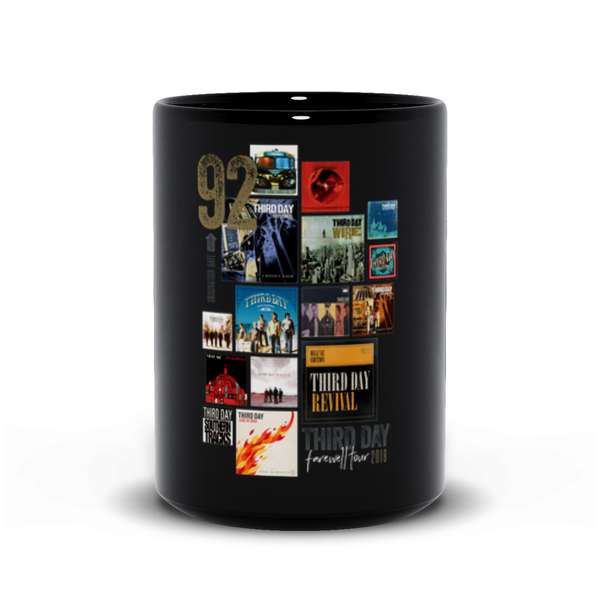 Albums Cover Black Mugs