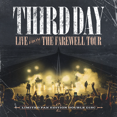 PHYSICAL CD - Third Day - Live From The Farewell Tour - 2 Disc Set