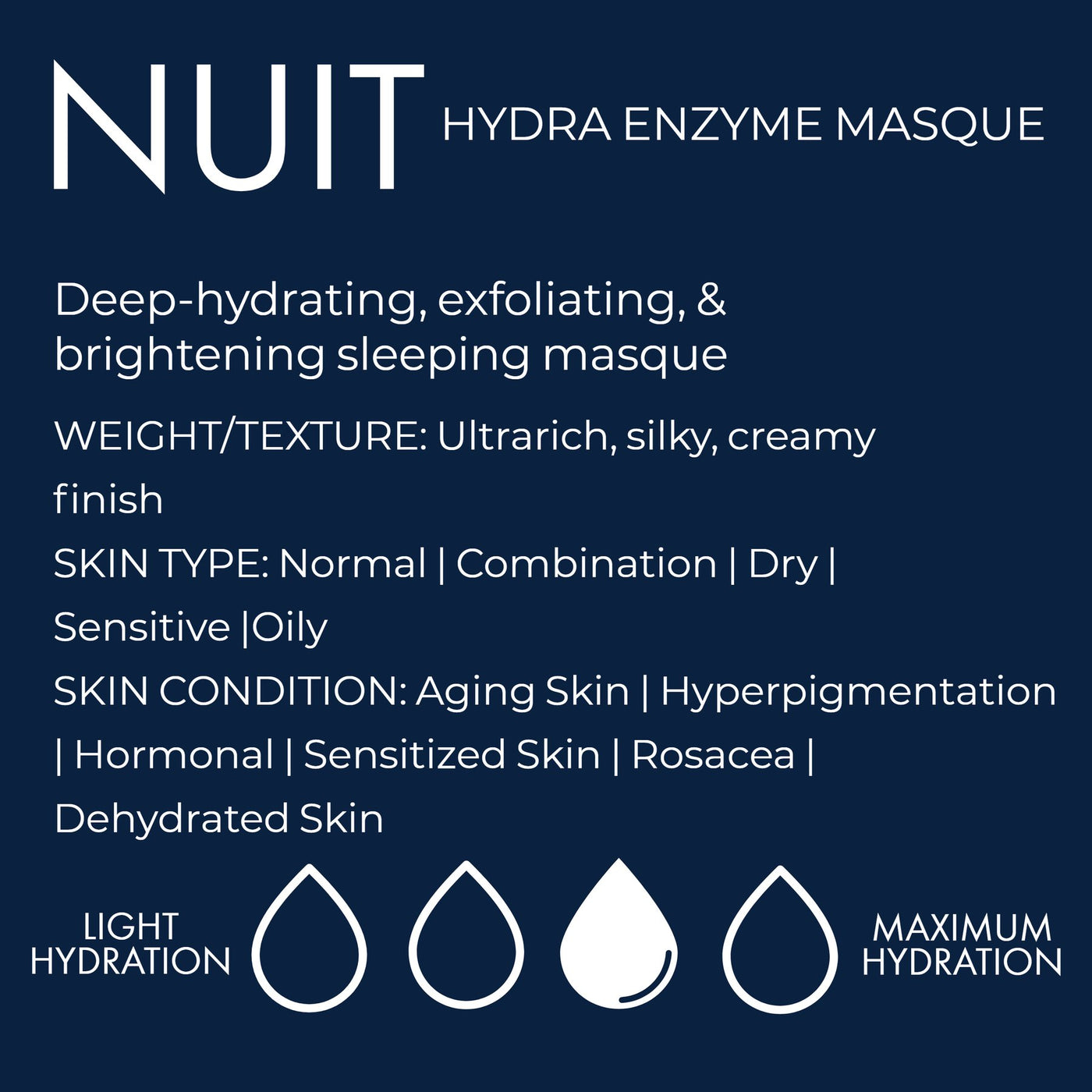 Nuit Hydra Enzyme Mask