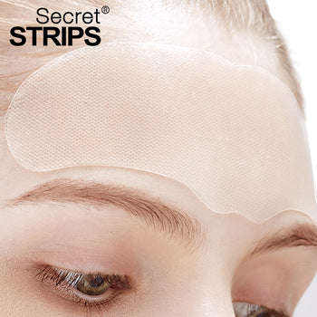 Secret Strips Forehead Anti-Wrinkles Patches With Hyaluronic Serum - 2 Step Anti-wrinkle Treatment Patches For Forehead Wrinkles