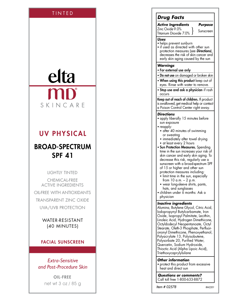 EltaMD UV Physical Broad-Spectrum SPF 41 (tinted)