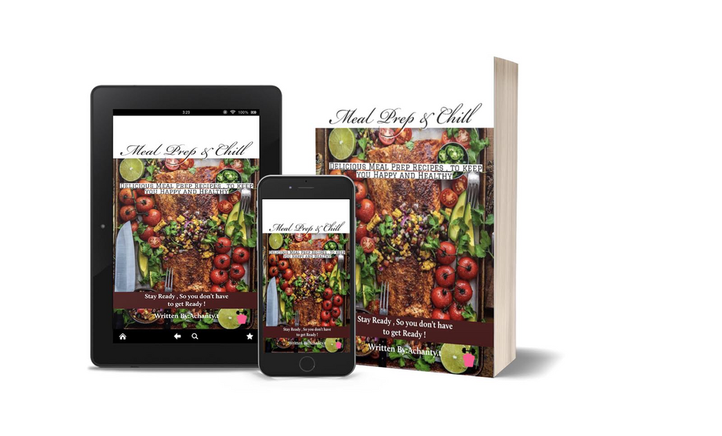 The Meal prep & Chill Recipe E-Book - Sweet Sweat