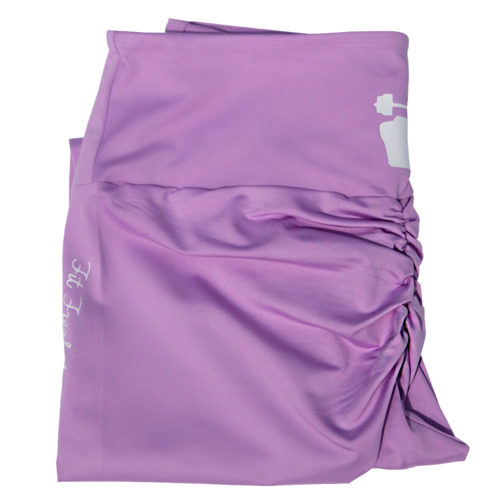 La-La Lavender Scrunge (Leggings) - Sweet Sweat