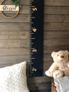Growth Chart for Kids - black background customize font