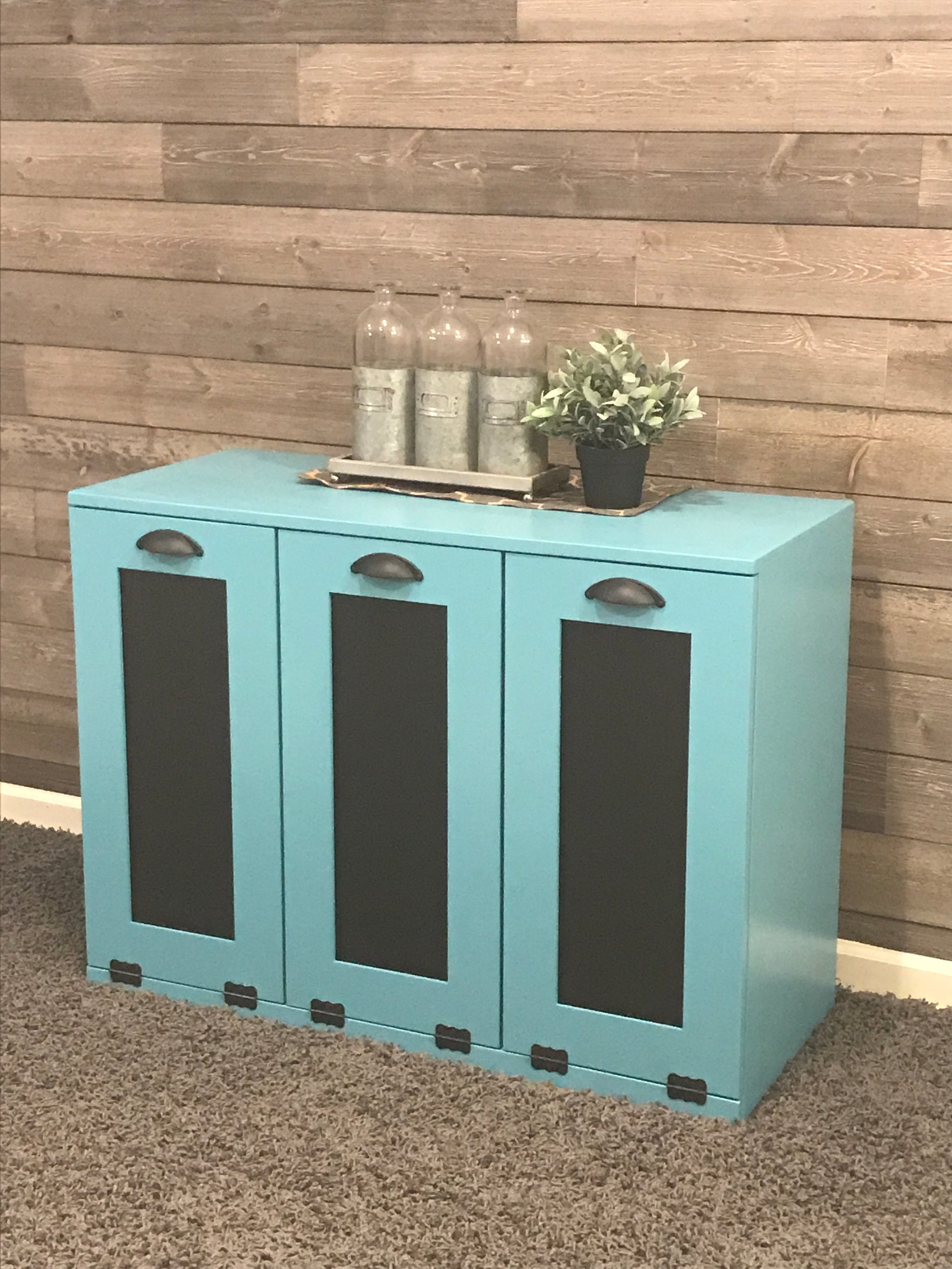 elegant tilt out trash and recycle. Trash can holders can be ...
