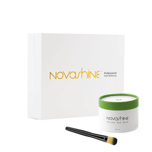 Teeth Whitening + Facemask + Free Brush Applicator : Nightly Routine Bundle