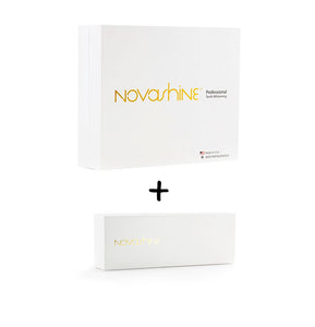 Teeth whitening 3 month supply bundle (kit + refill) Novashine