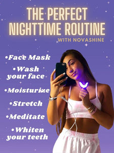Teeth Whitening Kit and Nightly Routine Bundle