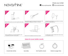 Theet Whitening Kit- How to use - Novashine