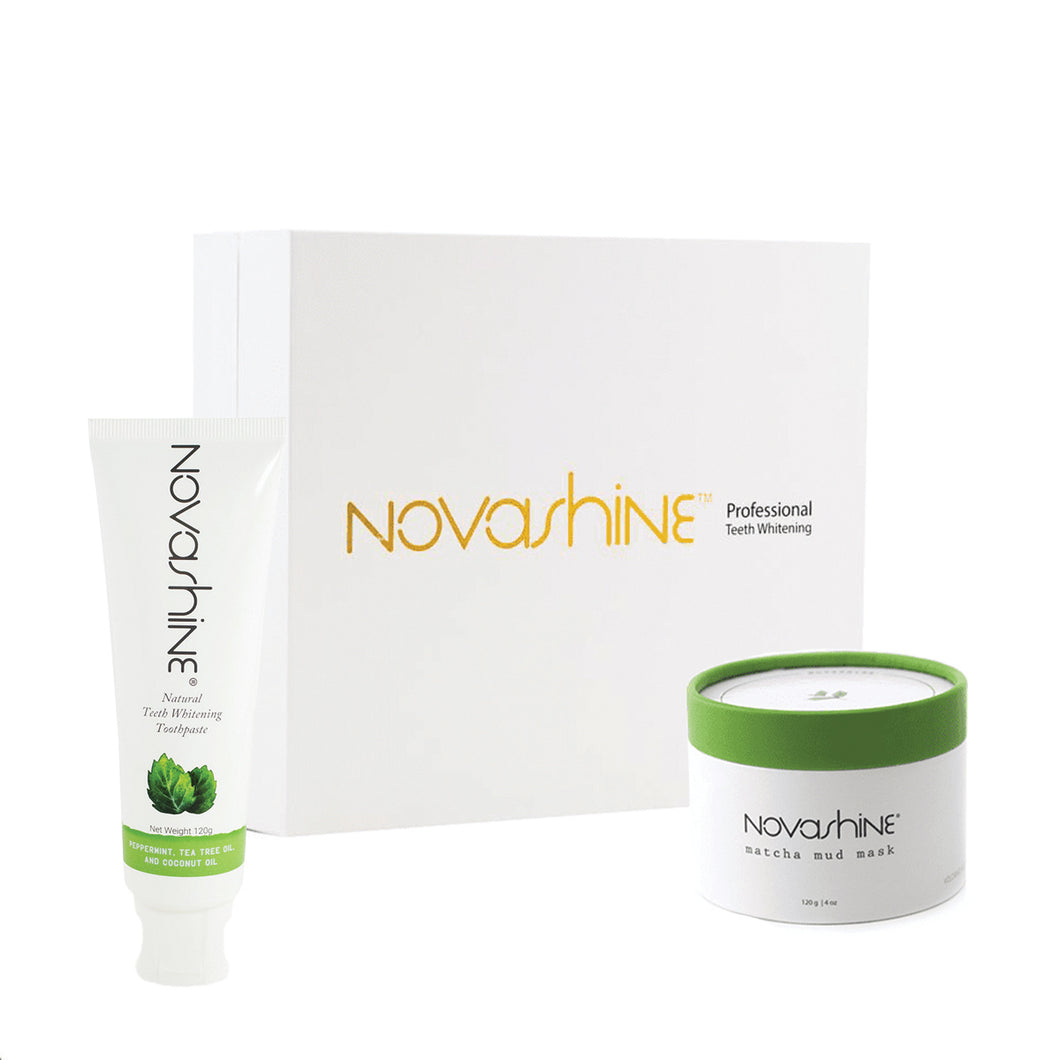 Kit + Mask + Toothpaste Novashine Ultimate Bundle