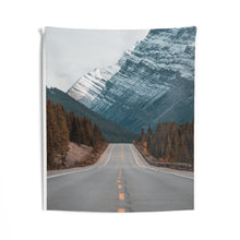 Heading to The Mountains Wall Tapestry