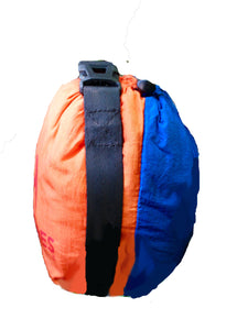 Cocoon Hammock Orange and Blue (double sized)