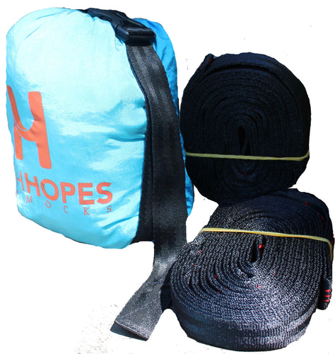 Camping Hammock (double sized) and Hope Strap Bundle