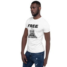 Free Joe Exotic White T-Shirt