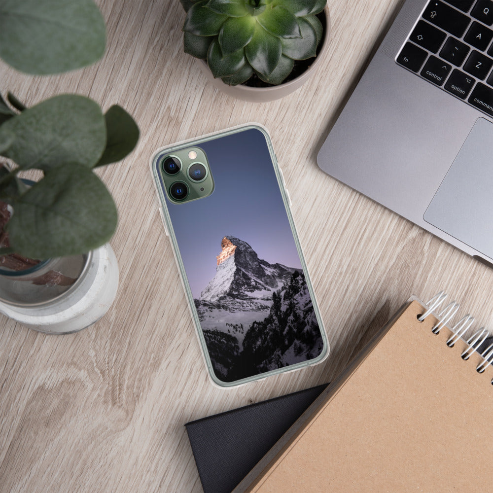 Wintery Mountain Phone Case