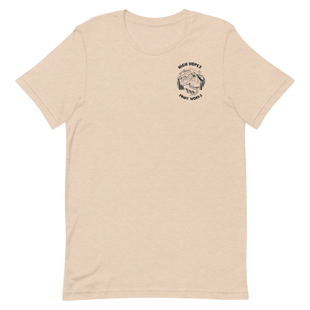 HHPW Mountain Logo T Shirt